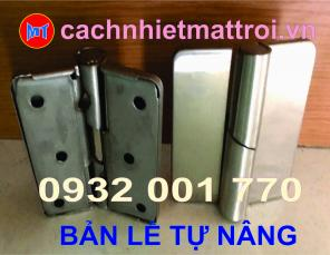 BẢN LỀ INOX 304 TỰ NÂNG LĂP ĐẶT CỬA PANEL