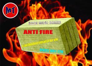 Bông chống cháy - cách âm cách nhiệt dạng tấm - Rockwool Board