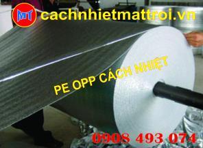 Mút cách nhiệt PE OPP ( Foam Bạc )