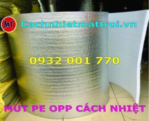 Mút xốp PE OPP chuyên dùng dán tôn - Chống nóng cách nhiệt mái nhà
