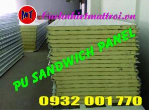 Panel PU cách nhiệt - PU Sandwich Panel