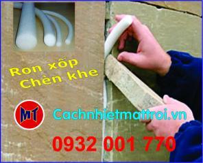 PE foam rod đường kính 8mm - Ron mút xốp chèn khe phi 8mm