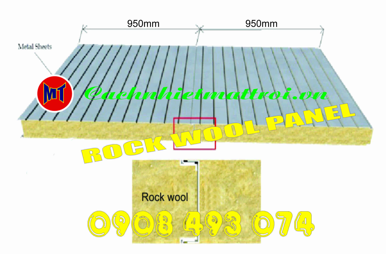 Panel Rock Wool cho nha xuong